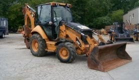 Retroexcavadora 2012 CAT 420E IT