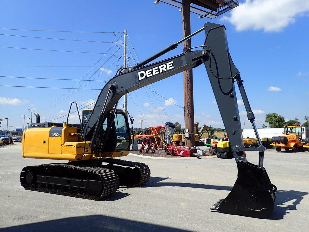 Comprar Retroexcavadora-2012-DEERE-160G-LC localizada en USA