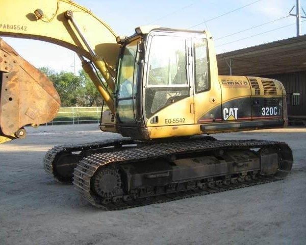 Excavadora Oruga 2006 CAT 320CL-Maqtx1
