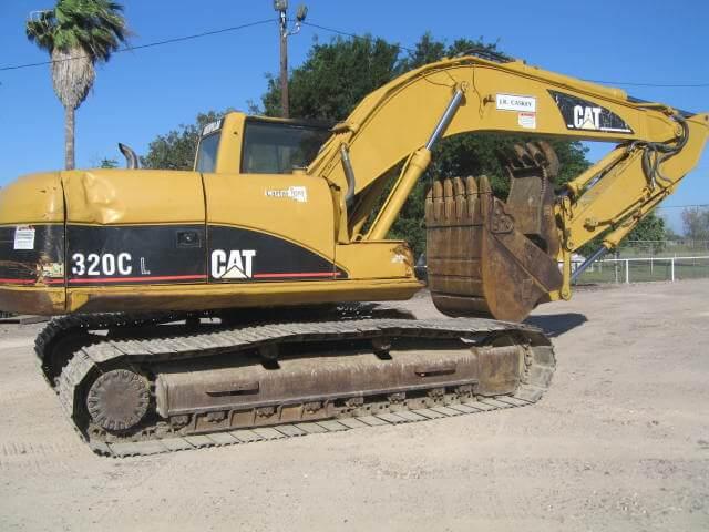 Excavadora 2003 CAT 420CL maqtx1