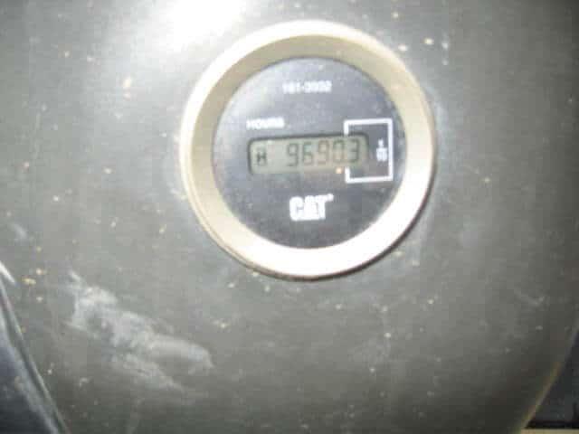 Hrs Excavadora oruga 2008 CAT 325DL-tx1