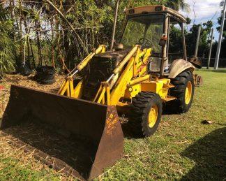 Retro Excavadora -maquinarias-construccion-zonapesada-USA