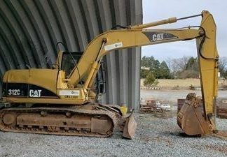 Excavadora Cat 312C-maquinarias-construccion-zonapesada-USA