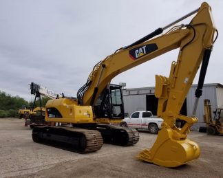 Excavadora Oruga grande CAT -maquinarias-construccion-zonapesada-USA