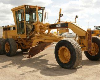 Niveladora CAT 140H-maquinarias-construccion-zonapesada-USA